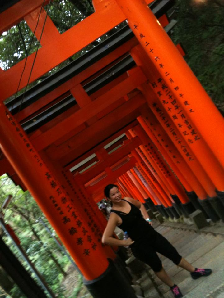 maida 40th birthday photo- Fushimi-Inari from iphone3