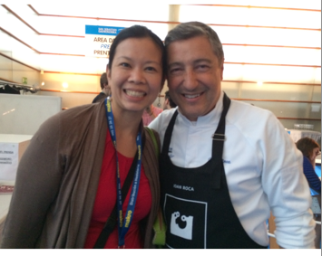 With Joan Roca at Gastronomika San Sebastian 2015