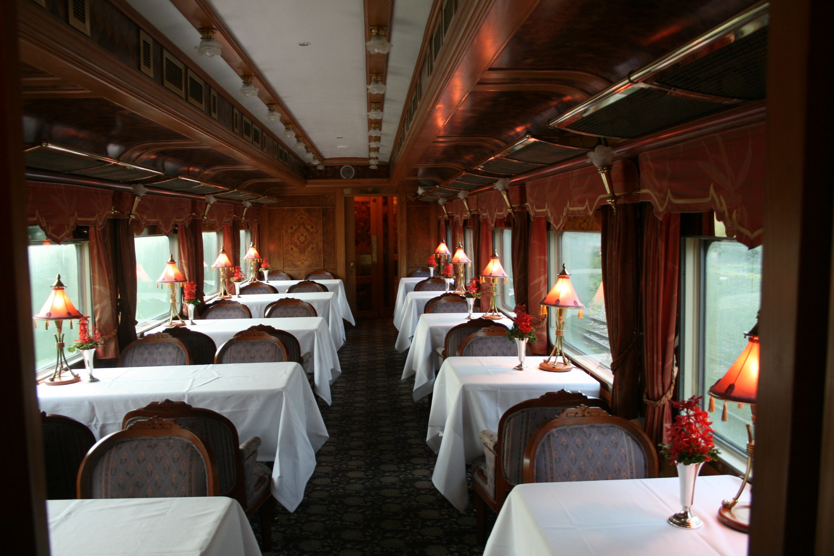 the romance of train dining at the eastern  u0026 oriental