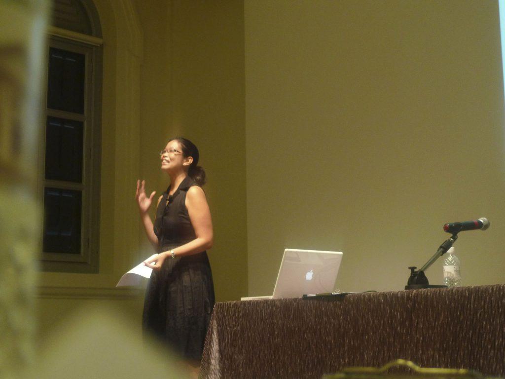 Maida Pineda Talk National Museum of Singapore